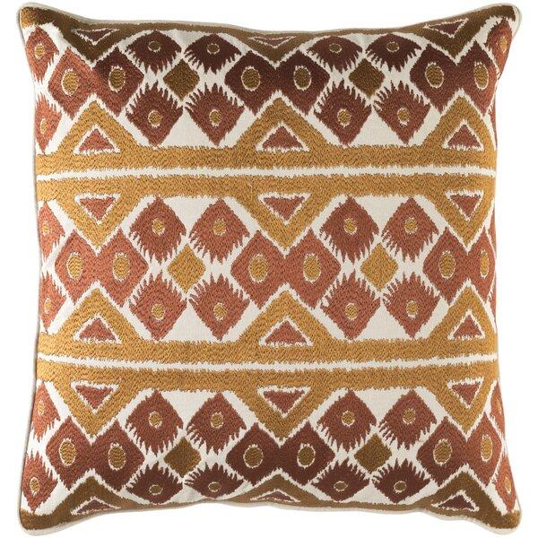 Cedro Cotton Throw Pillow by Loon Peak