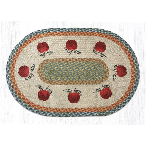 Apples Printed Area Rug by Earth Rugs