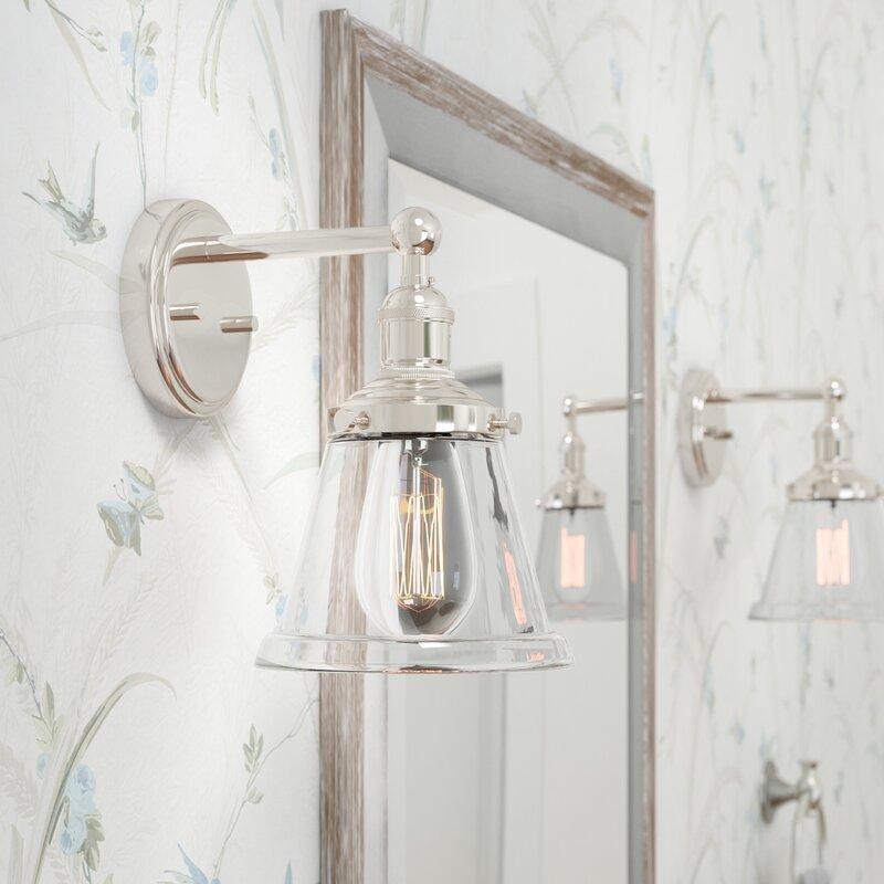 Laurel Foundry Modern FarmhouseSandy Springs 1-Light Bath Sconce