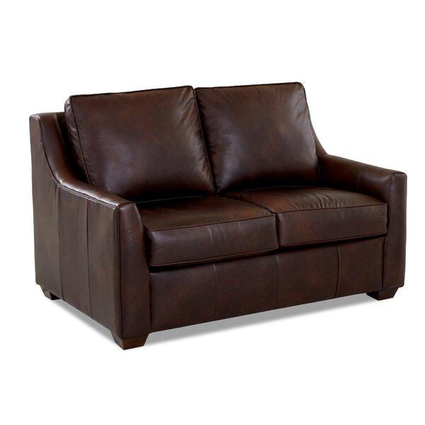 Léa Leather Sleeper by Birch Lane™ Heritage