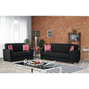 Advika 2 Piece Reclining Living Room Set by Latitude Run®