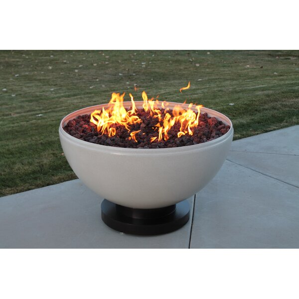 Belmont Steel Natural Gas Fire Pit by CC Products