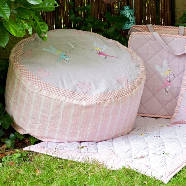 Fairy Cottage Bean Bag Chair by Win Green