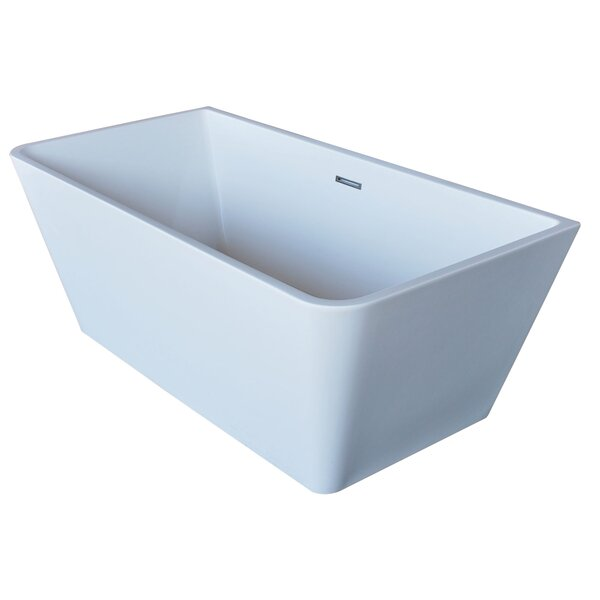 Majanel 67 x 31.4 Freestanding Soaking Bathtub by ANZZI