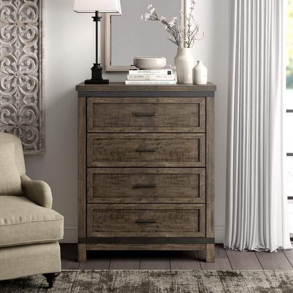 Sallie 4 Drawer Chest by Greyleigh