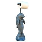 Hickory Manor House Dolphin Freestanding Toilet Paper Holder