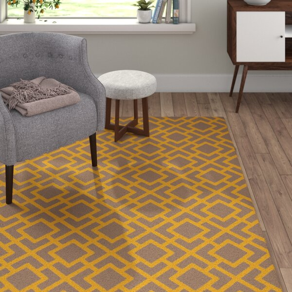 Berkeley Gold/Taupe Area Rug by Langley Street