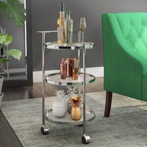 Kindra Bar Cart by Zipcode Design