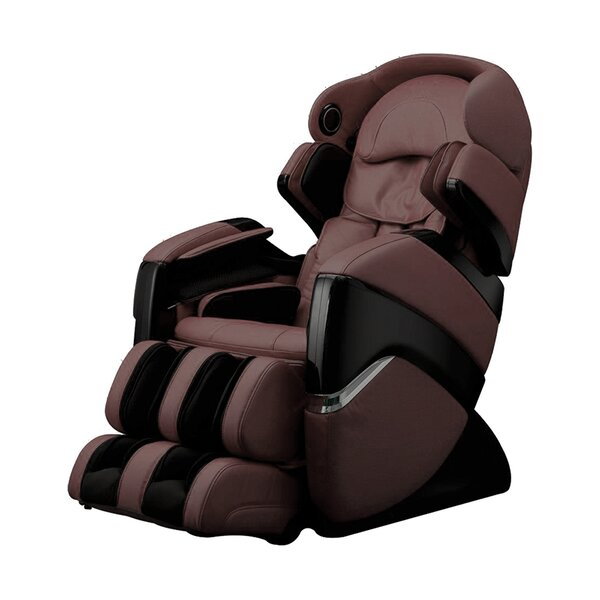 OS-3D Faux Leather Pro Cyber Reclining Adjustable Width Heated Massage Chair By Osaki