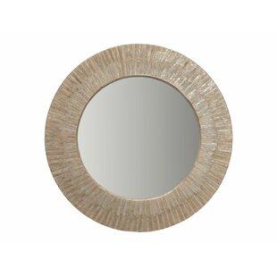 Kouboo Capiz Seashell Sunray Wall Mirror