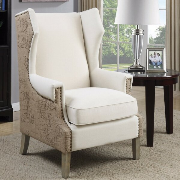 Enger Wingback Chair by 17 Stories