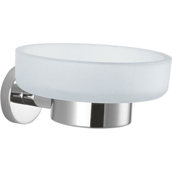 Martindale Wall Mounted Glass Soap Dish by Latitude Run