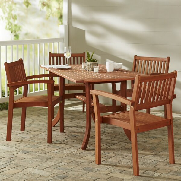 Southport 5 Piece Dining Set by Gracie Oaks