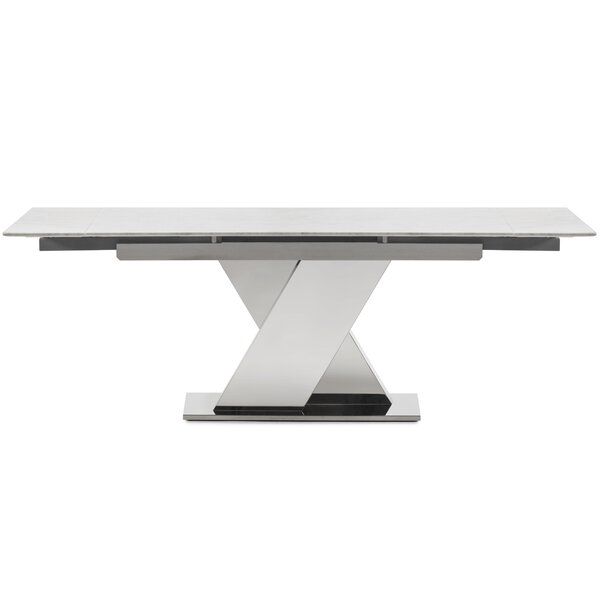 Hyslop Extendable Dining Table by Orren Ellis