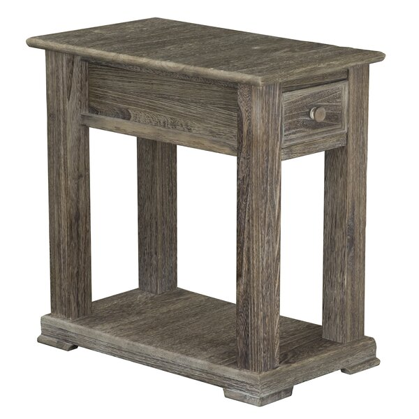 Zosia Chairside End Table by Millwood Pines