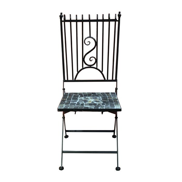 Propes Mosaic Garden Patio Dining Chair by August Grove