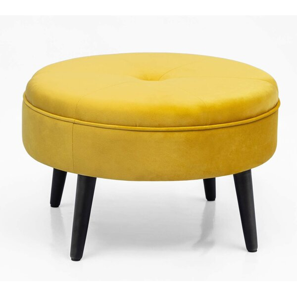 Kean Tufted Cocktail Ottoman By Ivy Bronx