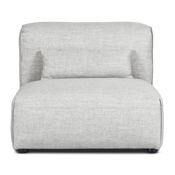 Alberica Armless Modular Chaise Lounge By Latitude Run