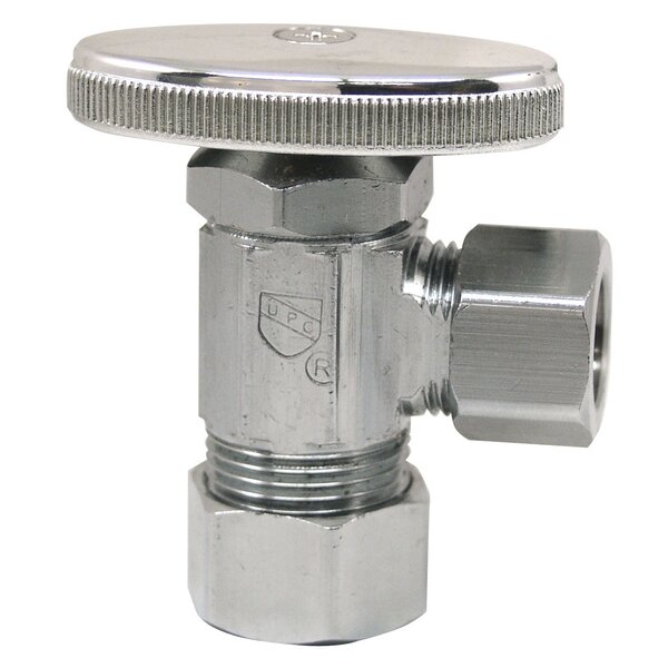 5/8 X 1/2 Low Lead Angle Valve by Plumb Craft