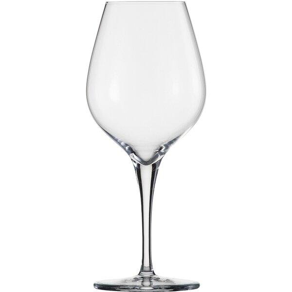 Fiesta Chardonnay Lead Free Crystal 12.6 oz. Wine Glass (Set of 6) by Schott Zwiesel