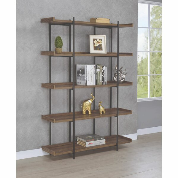 Springfield Metal Framed Standard Bookcase by 17 Stories