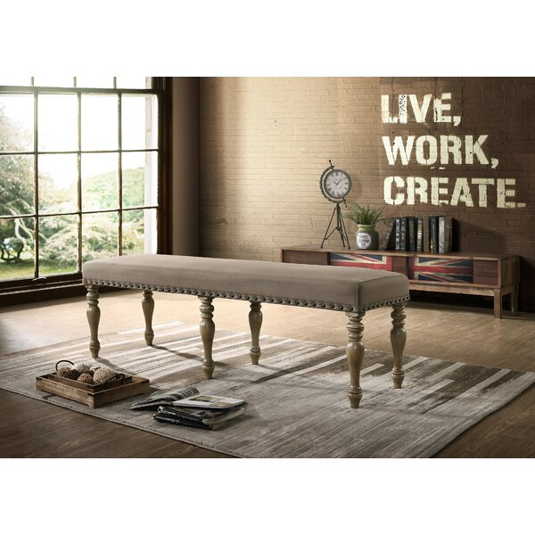 Dasher Upholstered Bench by One Allium Way