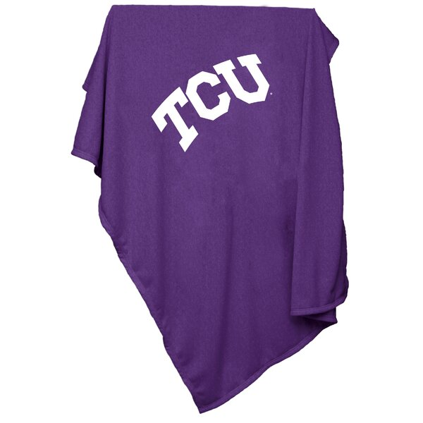 NCAA Team Sweatshirt Blanket by Logo Brands