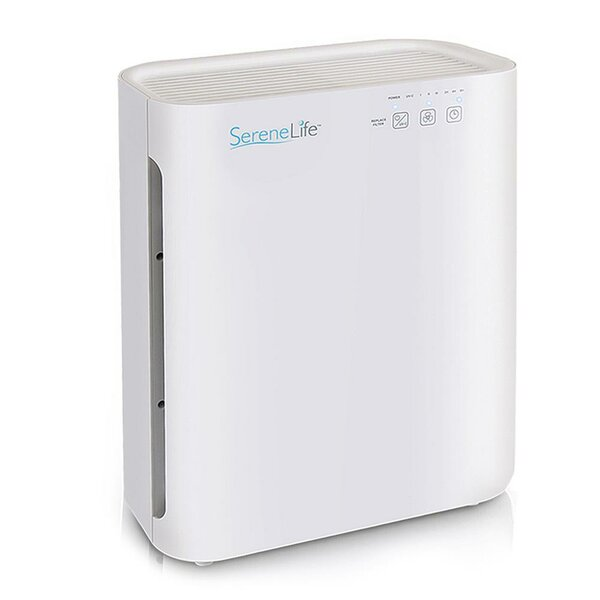 Healthy Clean Quality Control Air Purifier with HEPA Filter by SereneLife