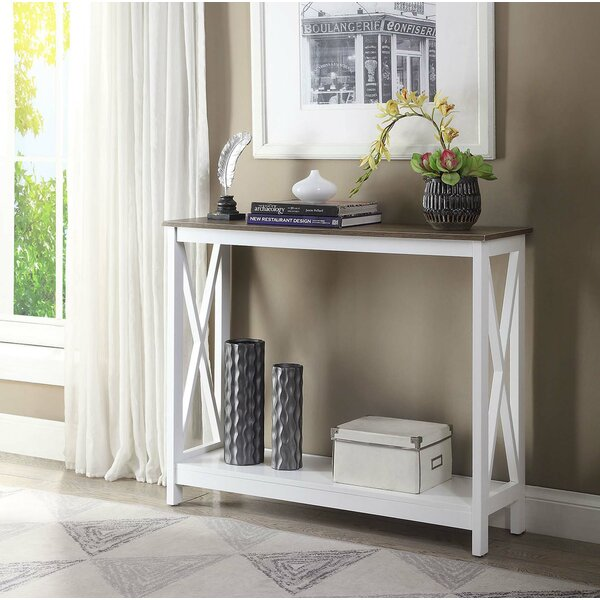 Review Stoneford 39.5 Console Table