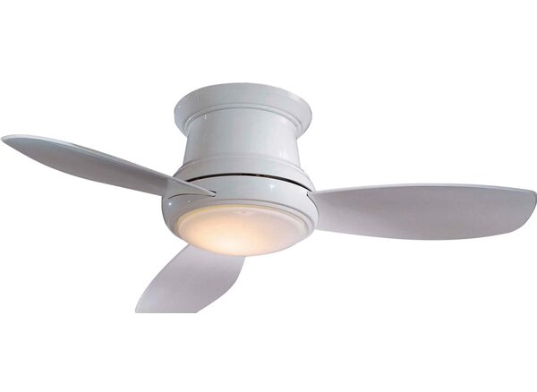 52 Concept II 3 Blade LED Ceiling Fan with Remote by Minka Aire