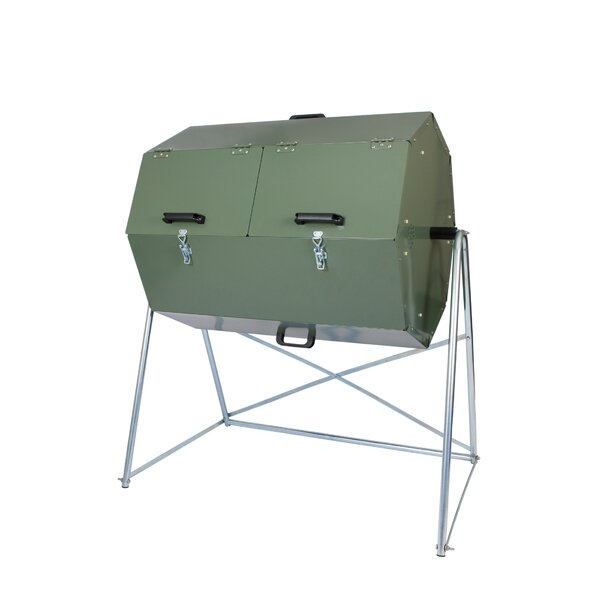 Composter 9.5 cu. ft. Tumbler Composter by Jora Co
