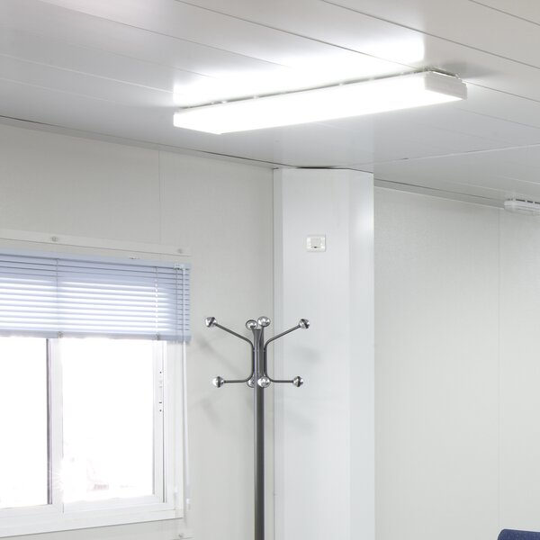 Dimmable Wraparound LED High Bay by NICOR Lighting