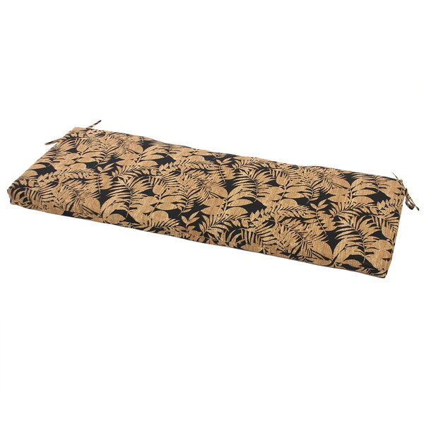 Leaf Indoor/Outdoor Patio Bench Cushion by Comfort Classics Inc.