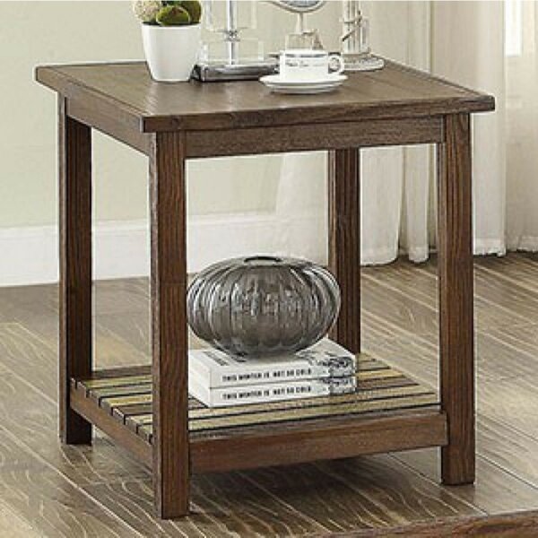 Weatherall End Table by Millwood Pines