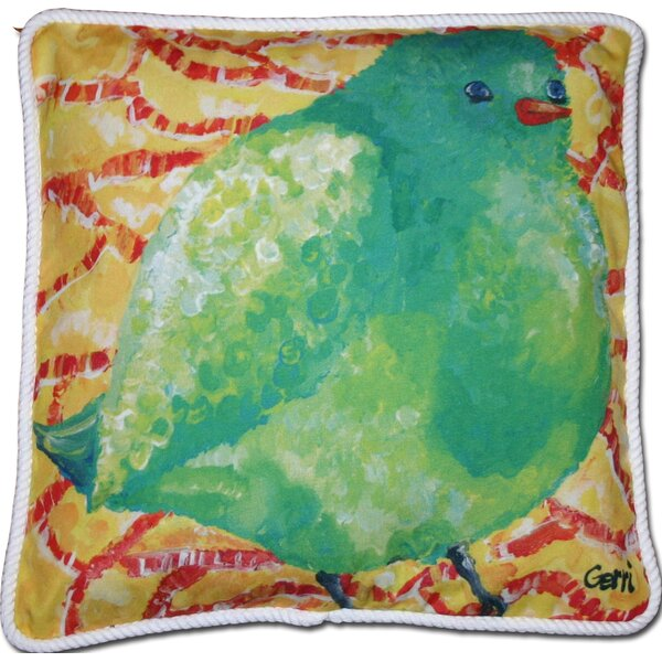 Chadbury Birdie Indoor/Outdoor Throw Pillow