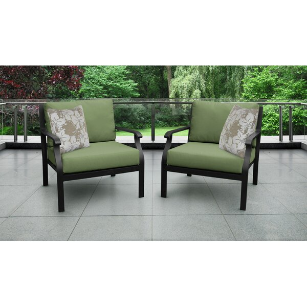 kathy ireland Madison Ave. Sectional Seating Group with Cushions (Set of 2) by kathy ireland Homes & Gardens by TK Classics