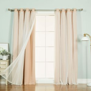 anabelle thermal blackout energy efficient grommet curtain panel pair set of 2