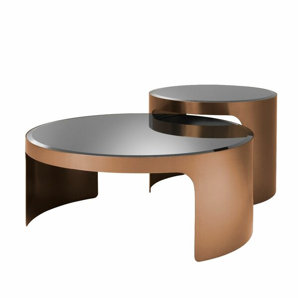 Piemonte Sled 2 Nesting Tables