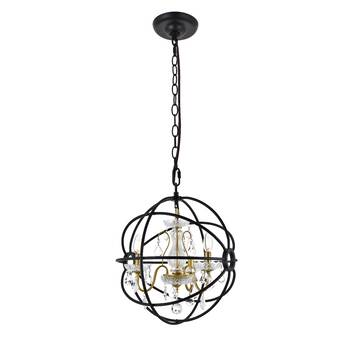 Ivy Bronx Preesall 3 Light Sputnik Sphere Chandelier Wayfair
