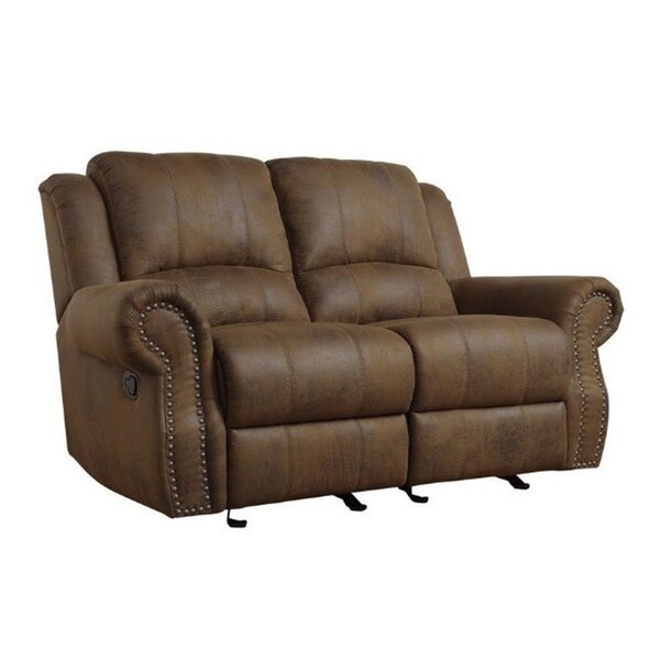Haslingden Reclining Loveseat by Darby Home Co