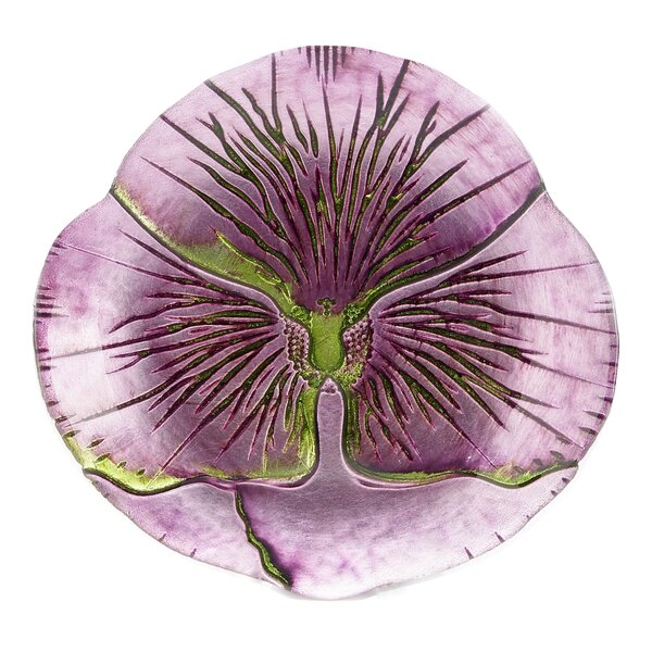 Pansy Canapé 7 Bread and Butter Plate (Set of 2) by Red Pomegranate