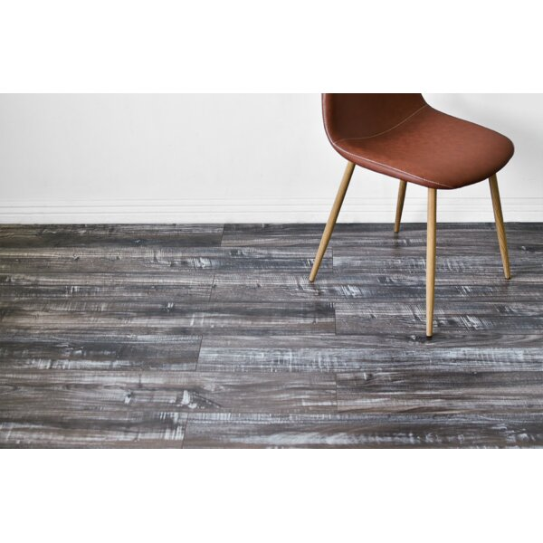 Vance 7 x 48 x 12mm Oak Laminate Flooring in Gray by Serradon