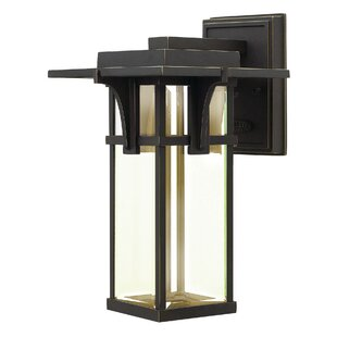 Kajale 1-Light Outdoor Wall Lantern By Loon Peak Outdoor Lighting