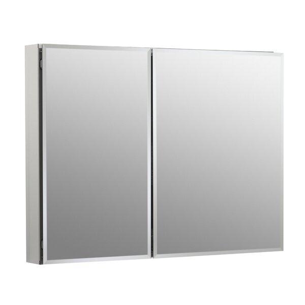Recessed Frameless 2 Medicine Cabinet with 4 Adjustable Shelves