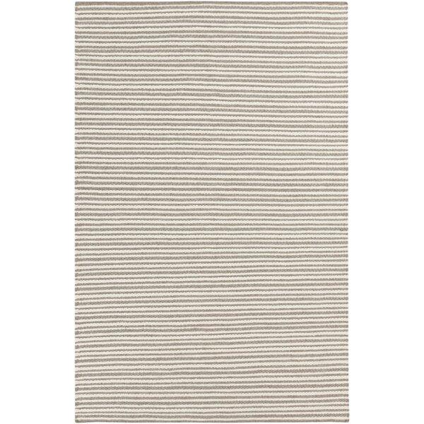 Kathryn Handwoven Wool Brown/Cream Area Rug by Birch Lane™