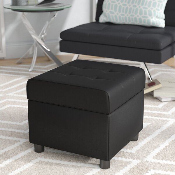 Kapono Storage Ottoman by Wade Logan