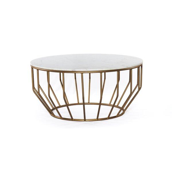 Azuela Pedestal Coffee Table By Mercer41