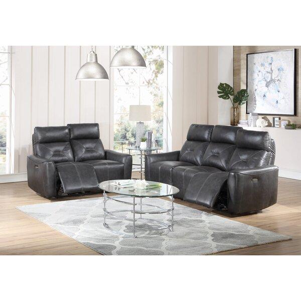 Toscana 2 Piece Reclining Living Room Set by Ebern Designs Ebern Designs