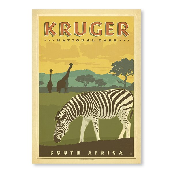 Kruger National Park Vintage Advertisement by East Urban Home