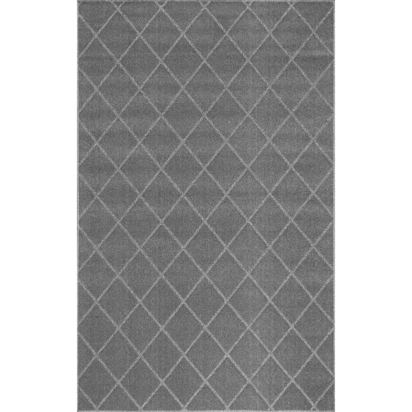Celestyna Hand-Tufted Gray Area Rug by Orren Ellis